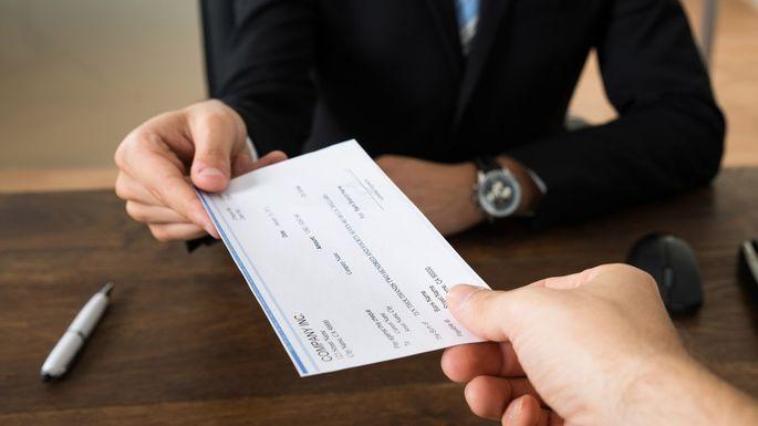 Receiving Check